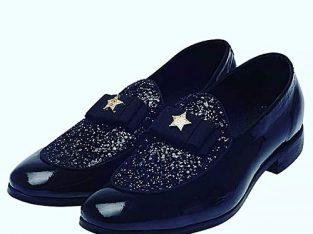 Italian Mazo Glossy Leather Shoes
