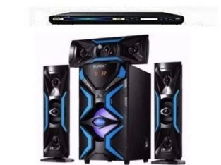 Djack 3.1 Heavy Duty Bluetooth Home Theatre System – DJ-1503L + POWERFUL SAMSUNG DVD