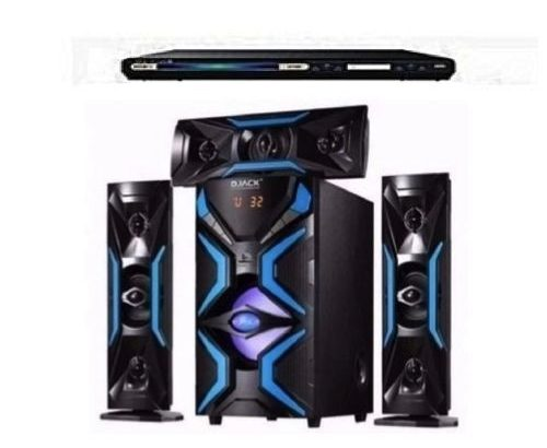 Djack 3.1 Heavy Duty Bluetooth Home Theatre System – DJ-1503L + POWERFUL SAMSUNG DVD