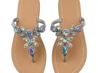Rhinestone Available In 10 Colors,Rhinestone Sandals,Women's Flat Sandals,Flip Flop,Jeweled Sandals