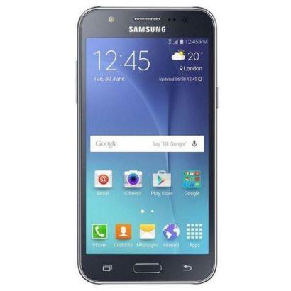 Samsung Galaxy J7 SM-J700F 5.5-Inch (1.5GB, 16GB ROM) Android 5.1, 13MP + 5MP Smartphone- Black