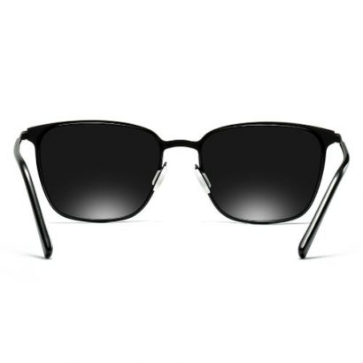 Square Metal Frame Polarized HD Sunglasses UV400 Protection Sun Glasses For Men