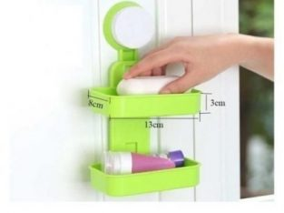 Double Soap Holder/Box -2 Layers Wall