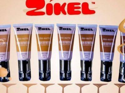 Zikel HD Foundation – Hot Amber, Golden Caramel White Cream – Mocha
