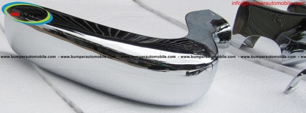 Mercedes W190 SL bumper (1955-1963) by stainless steel