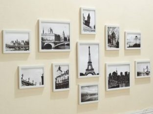 Photo Frame Set 11PCS White