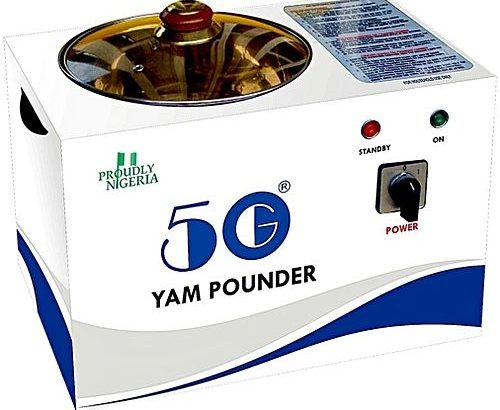 50G Yam Pounding Machine Pounder Mixer Blender Morsel Pound