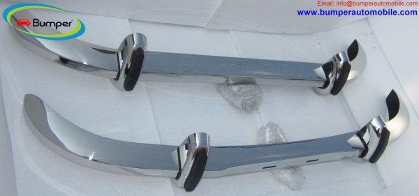 Saab 96 Longnose bumper (1965–1970) by stainless steel