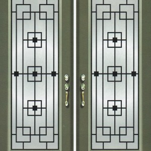 Chesterfield Wrought Iron Door
