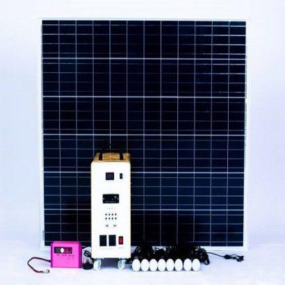 SALPHA ENERGY SOLAR HOME SYSTEM – POWERFLO 100 – 200 WATTS