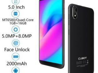 Cubot J3 5.0-Inch (1GB+16GB) Quad Core Android Go Smartphone