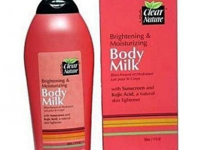 Clear Nature Body Milk Lotion