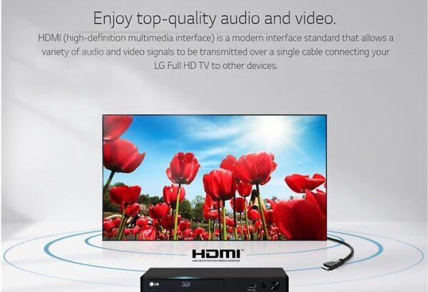 LG 43-Inch LED TV 43LK500 – Black
