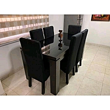 6 Seater Reinz Marble Dining Set