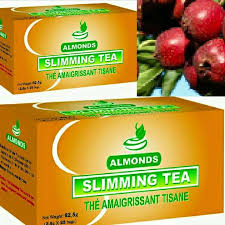 almond slimming tea