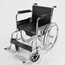 Wheel Chair With Commode