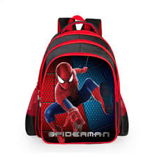 Cartoon Characters Children's School Bags Spider