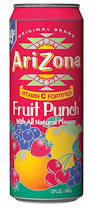 Arizona Arizona Fruit Cocktail Juice, 680ml Of 24 Cans