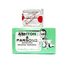 Glaxosmithkline 3 X 20 Sachets Ashton And Parsons Infant Baby Teething Powder 60 Sachets