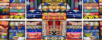 Rossberry Platinum Flowery Design Ankara Wax Fabric