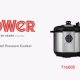 Tower Electric Digital Pressure Cooker & Smoker