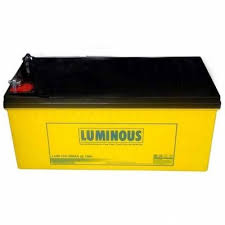 Luminous 200AHS 12Volts Solar Battery