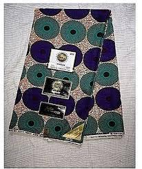 Ankara Fabric – Ankara Cloth – 6 Yards, Red, Green, Black, White, Multicolor
