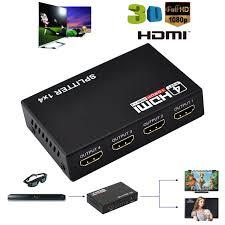 HDMI Splitter 1X4 4 Port Full HD Hub