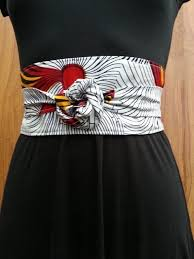 Ankara Belt and Waist Band for Ladies