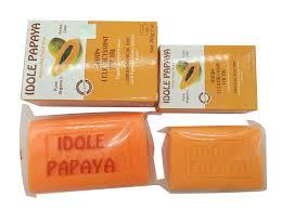 Idole Papaya Whitening Facial Soap