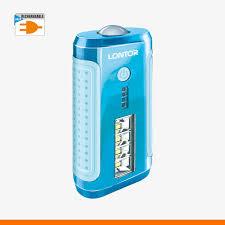 Lontor 6000MaH Power Bank With Light- CTL-PB046