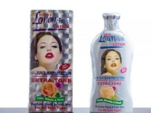 Lemon Fresh Lotion With Extra Tone