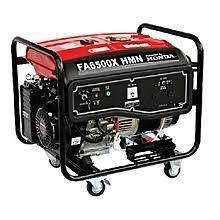 Honda FA6500X HMN-5.5kva Keystart Generator