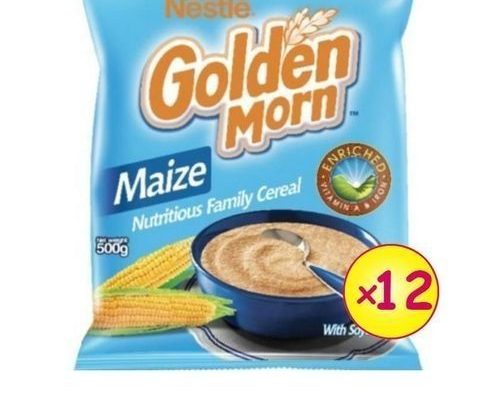 Nestle Golden Morn Carton – 500g (x 12)
