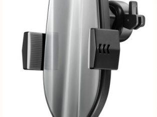 HAMTOD HMT Pro 10W Air Outlet 360 Degree Rotation QI Intelligent Sensor Car Wireless Charging Holder