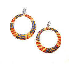 ANKARA EAR RINGS