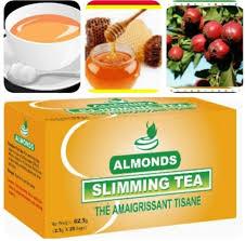 almond slimming tea