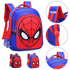 Cartoon Characters Children's School Bags Spider