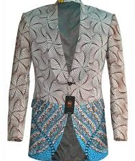 Ankara Male Jacket