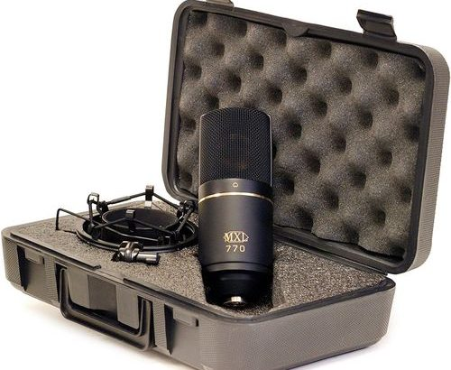 SHARE THIS PRODUCT Mxl Mics 770 Cardio Id Condenser Microphone