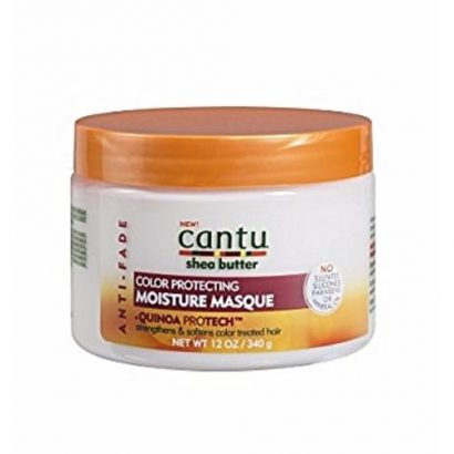 Cantu Shea Butter Anti Fade Color Protecting Moisture Masque With Quinoa Protein, 12 Ounce
