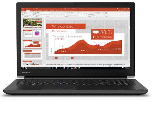 Toshiba Laptop 15.6 Inch ,1 TB,8 GB RAM,Intel 8th Generation Core I7,Windows,Black – TECRA A50-E