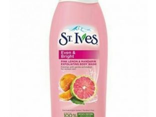 St Ives Even & Bright Body Wash, Pink Lemon And Mandarin Orange 709ml