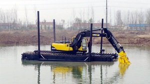 320C swamp buggy Used Caterpillar Swamp buggy excavator