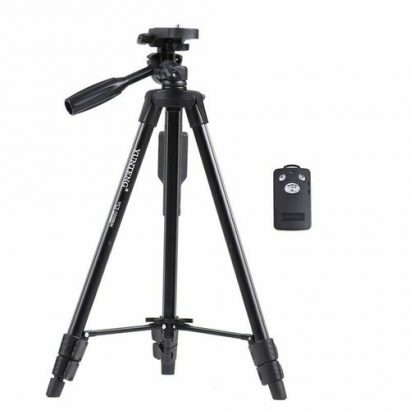 Yunteng Vct 5208 Mobile Phone Camera Tripod Stand WithRemote