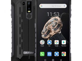 Ulefone Armor 6S Dual 4G & VoLTE 6GB+128GB 6.2 Inch Android 9.0 4G Smartphone – Black