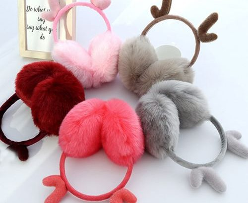 Ear Muffs Winter Fall Cute Warm-Keeping Earmuffs Christmas