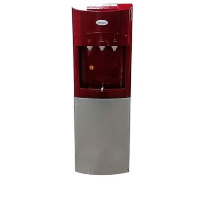 Nexus 3 Tap Water Dispenser With Fridge – Red