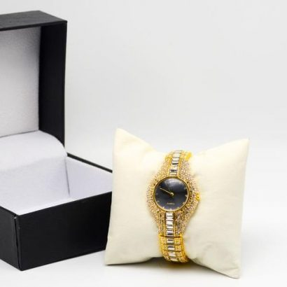 Ice Stoned Chain Ladies Wristwatch