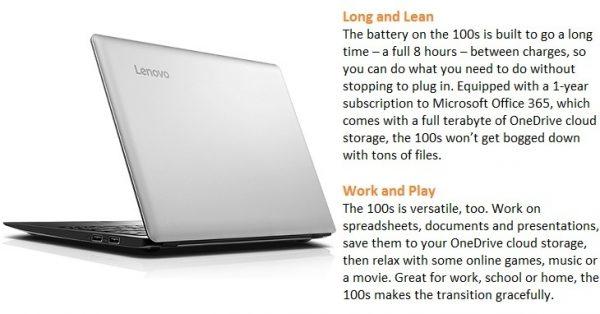 lenovo mini laptop